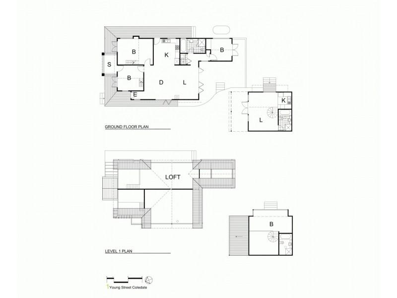 1 Young Street, Coledale NSW 2515 Floorplan