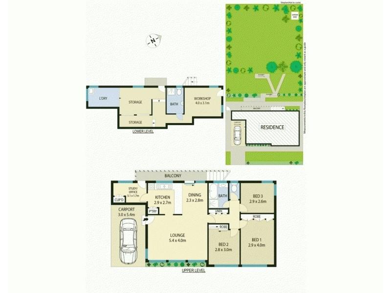 180 Northcott Drive, Adamstown Heights NSW 2289 Floorplan