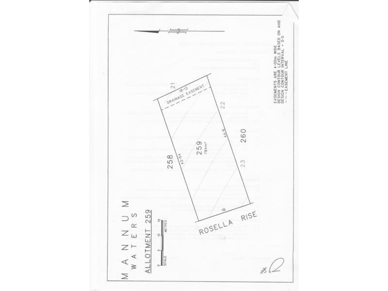Lot 259 Rosella Rise, Mannum Waters, Mannum SA 5238