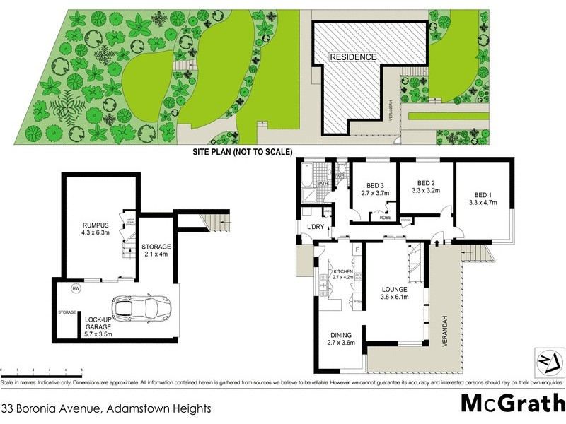 33 Boronia Avenue, Adamstown Heights NSW 2289 Floorplan