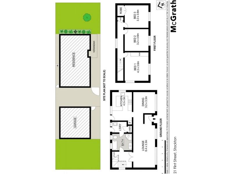 21 Flint Street, Stockton NSW 2295 Floorplan