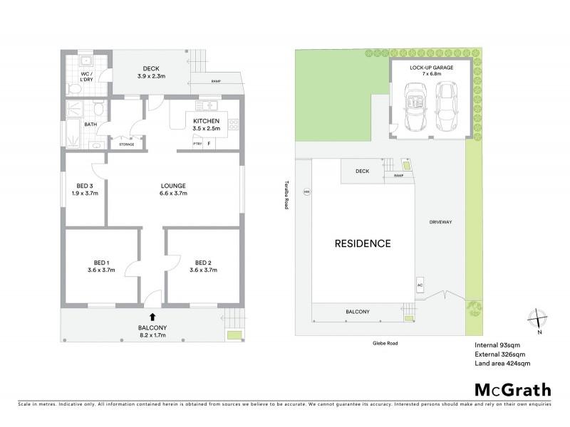 637 Glebe Road, Adamstown NSW 2289 Floorplan