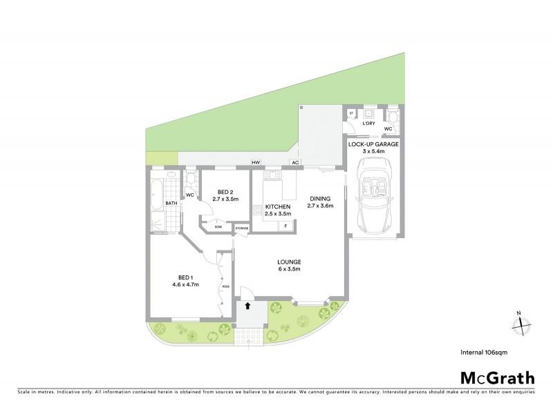 6/68 Fletcher Street, Adamstown NSW 2289 Floorplan