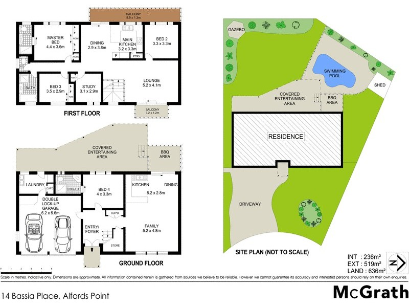 14 Bassia Place, Alfords Point NSW 2234 Floorplan