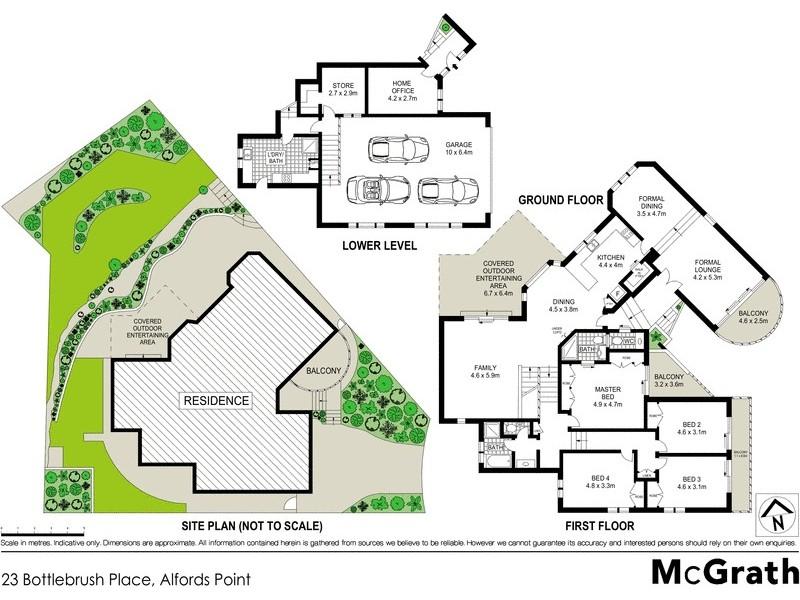 23 Bottlebrush Place, Alfords Point NSW 2234 Floorplan