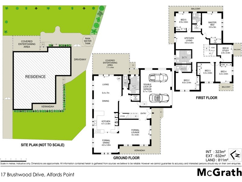 17 Brushwood Drive, Alfords Point NSW 2234 Floorplan
