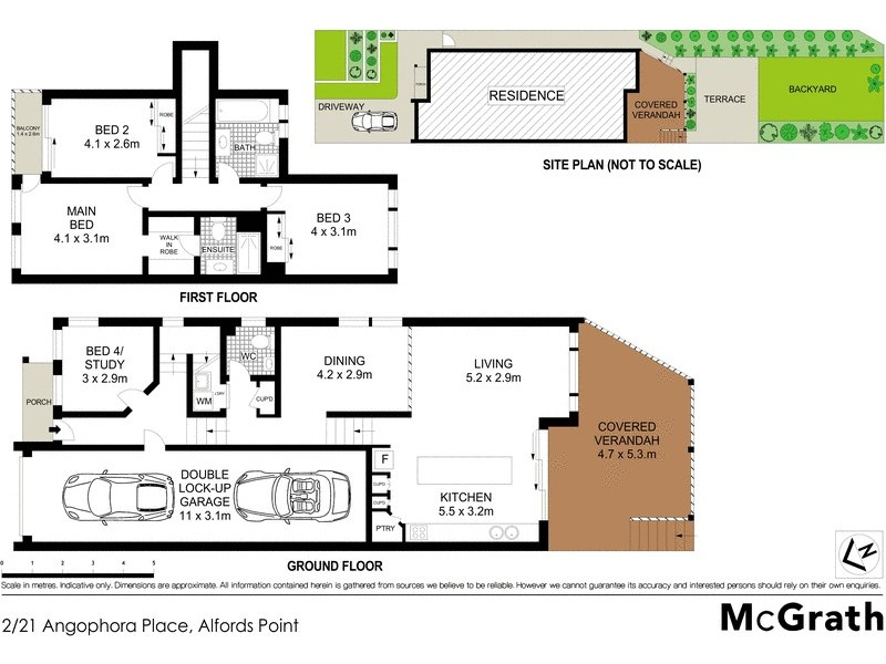 2/21 Angophora Place, Alfords Point NSW 2234 Floorplan