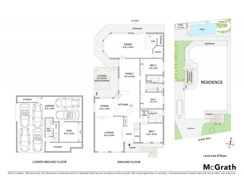 3 Archer Row, Menai NSW 2234 Floorplan