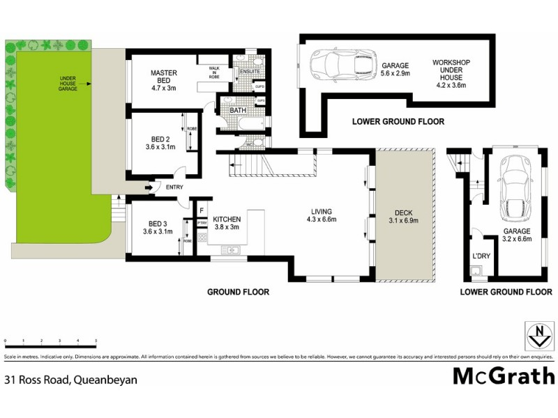 1/31 Ross Road, Queanbeyan NSW 2620 Floorplan