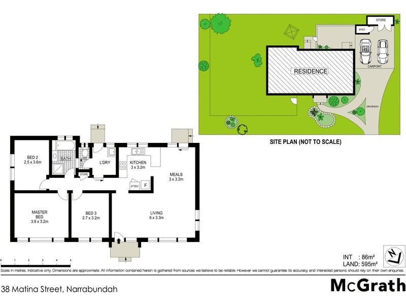 38 Matina Street, Narrabundah ACT 2604 Floorplan