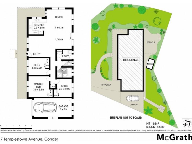 7 Templestowe Avenue, Conder ACT 2906 Floorplan