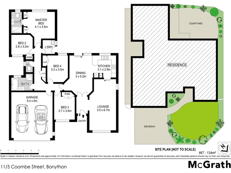 11/5 Coombe Street, Bonython ACT 2905 Floorplan