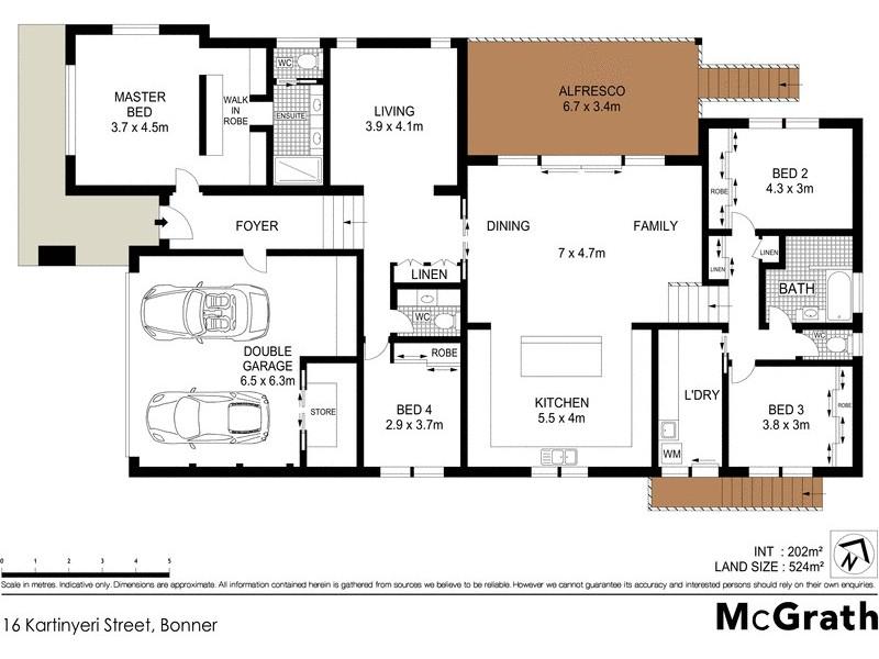 16 Kartinyeri Street, Bonner ACT 2914 Floorplan