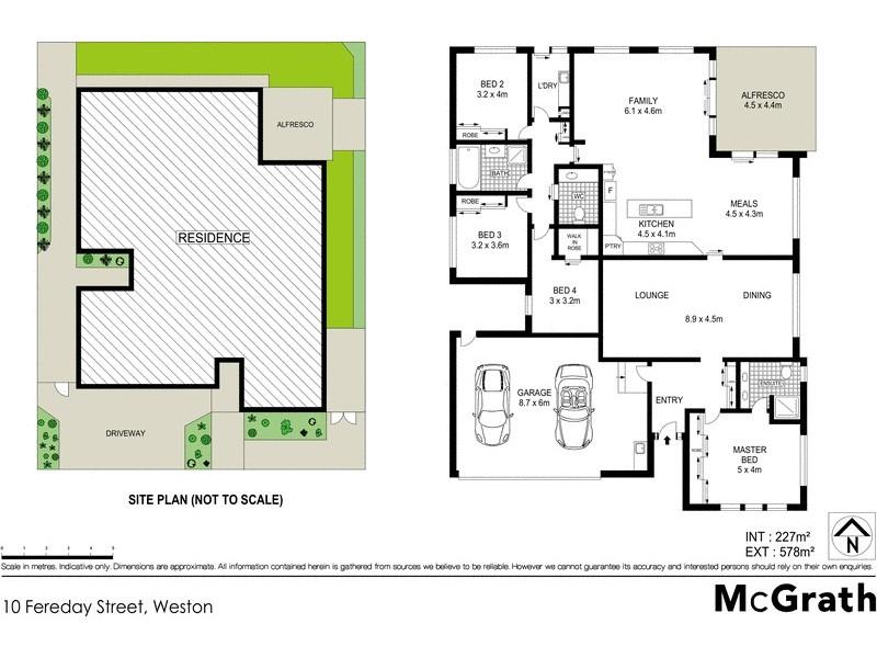 10 Fereday Street, Weston ACT 2611 Floorplan