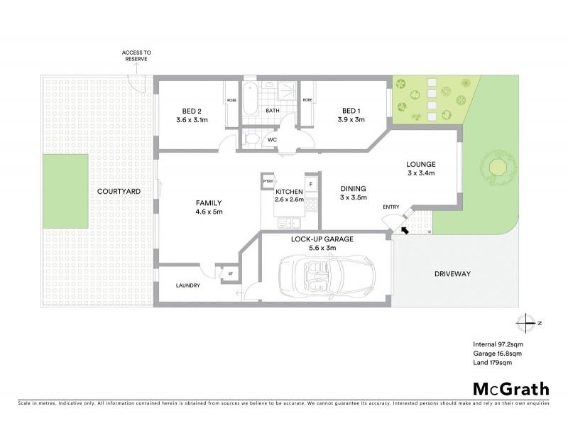 4/20 Kenny Place, Queanbeyan NSW 2620 Floorplan