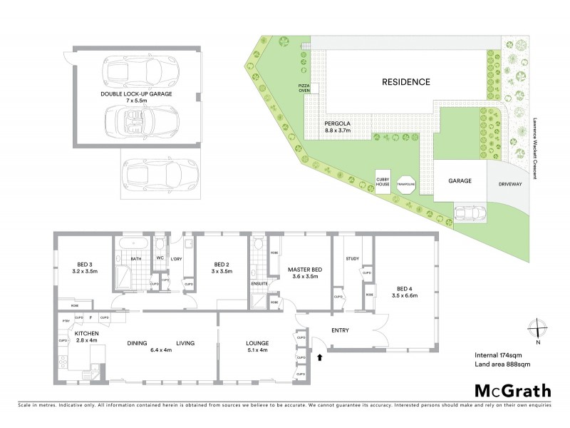 75 Lawrence Wackett Crescent, Theodore ACT 2905 Floorplan