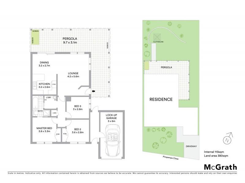 10 Pimpampa Close, Isabella Plains ACT 2905 Floorplan