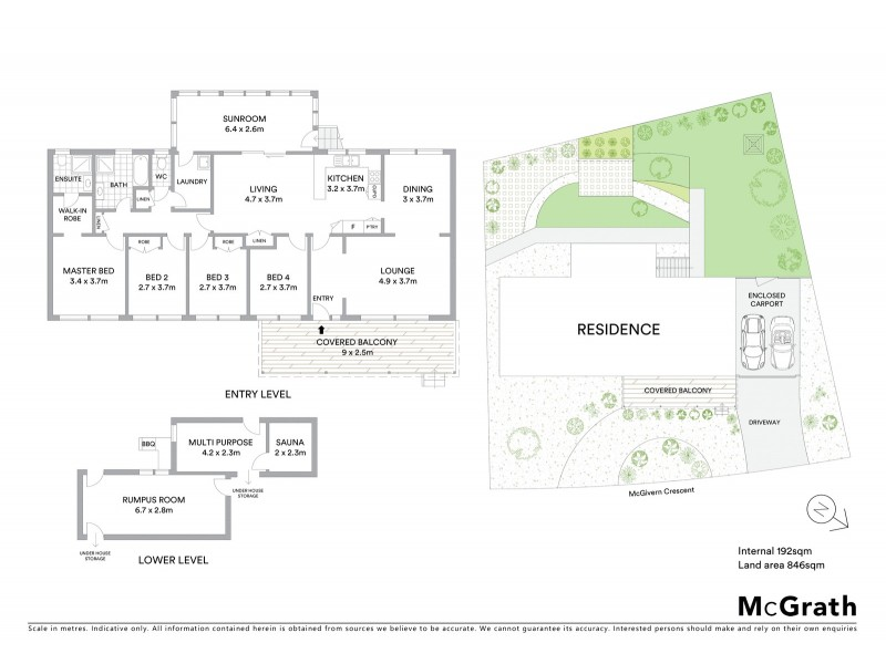 25 McGivern Crescent, Kambah ACT 2902 Floorplan