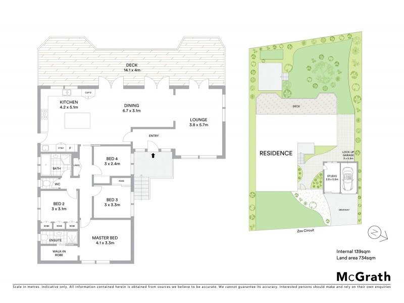 18 Zox Circuit, Calwell ACT 2905 Floorplan