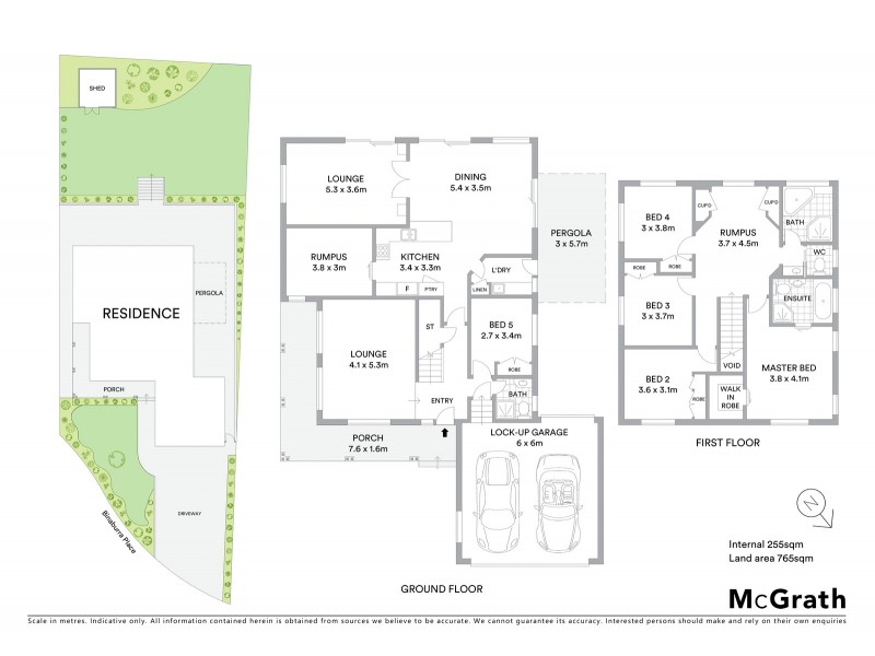 8 Binaburra Place, Karabar NSW 2620 Floorplan