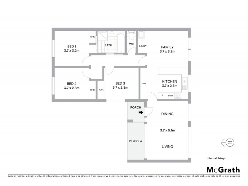 31 Dixson Circuit, Conder ACT 2906 Floorplan