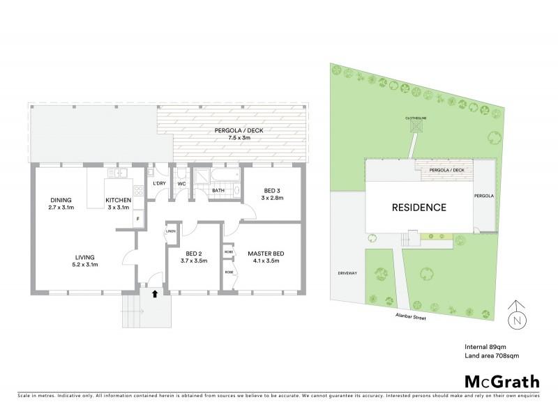 32 Alanbar Street, Queanbeyan NSW 2620 Floorplan