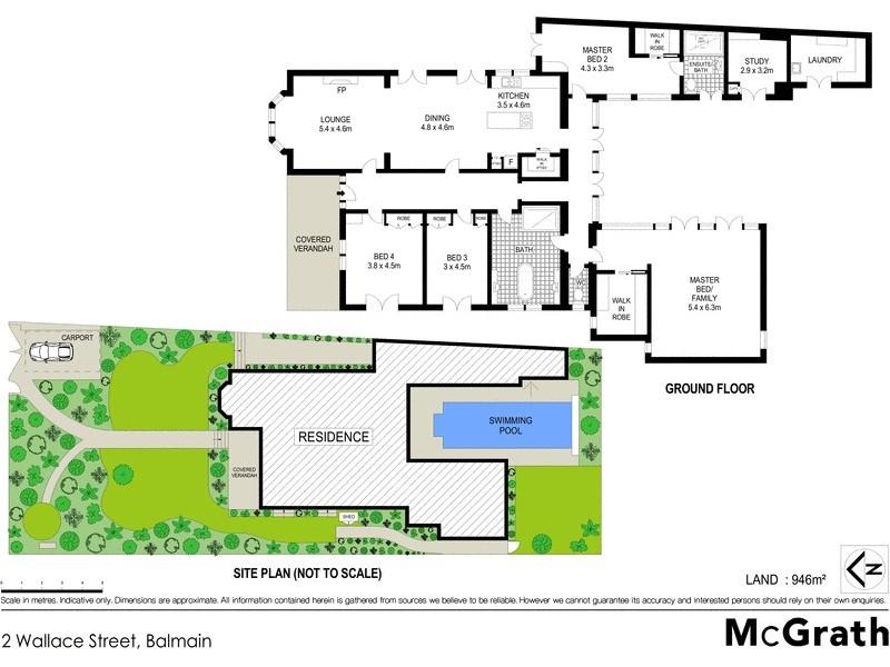 2 Wallace Street, Balmain NSW 2041 Floorplan
