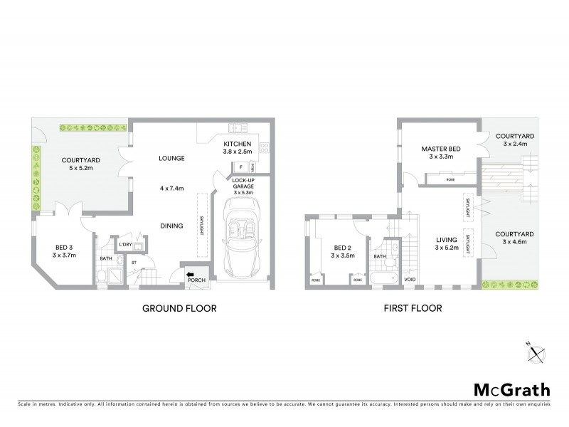 15A Cheltenham Street, Rozelle NSW 2039 Floorplan