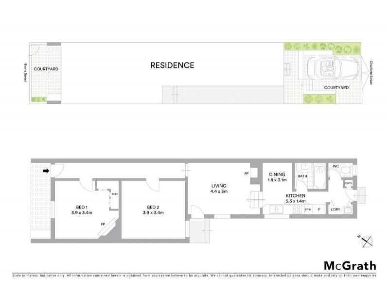 200 Evans Street, Rozelle NSW 2039 Floorplan