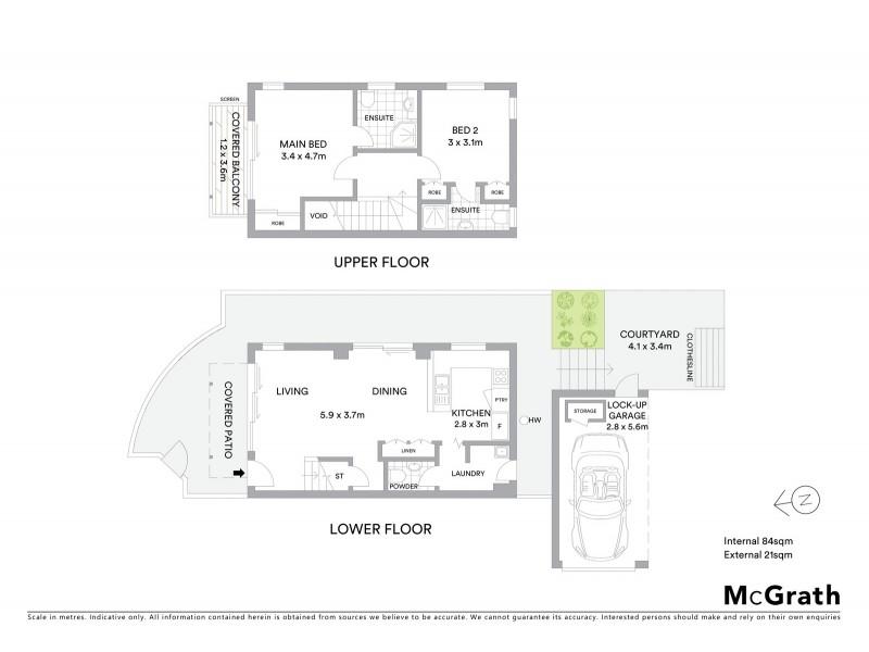 1/90 Sherwood Road, Toowong QLD 4066 Floorplan