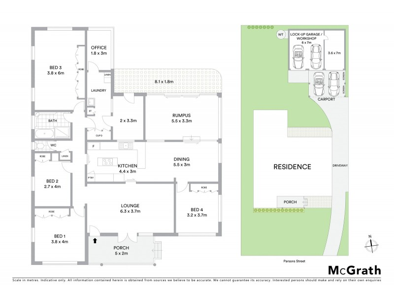 37 Parsons Street, Rangeville QLD 4350 Floorplan