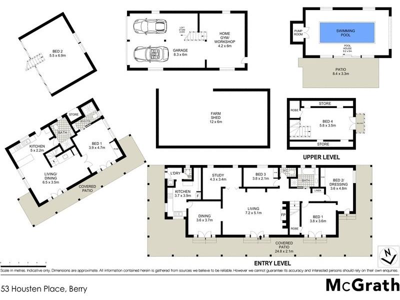 53 Housten Place, Berry NSW 2535 Floorplan