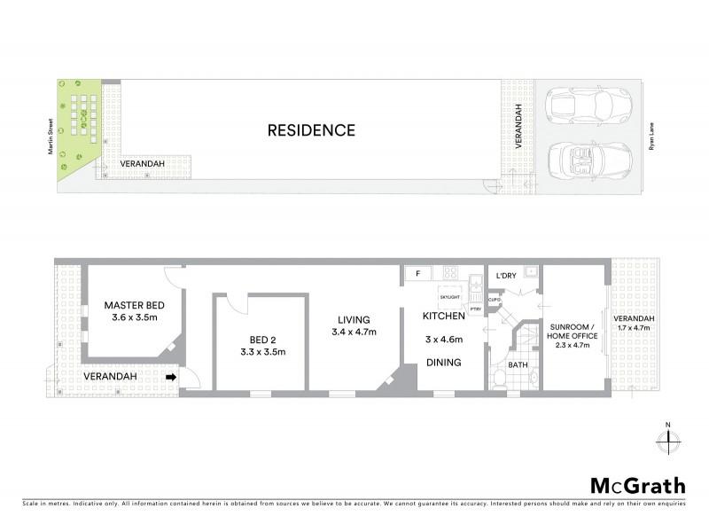 5 Martin Street, Naremburn NSW 2065 Floorplan