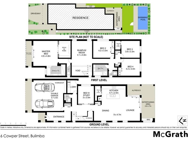 6 Cowper Street, Bulimba QLD 4171 Floorplan
