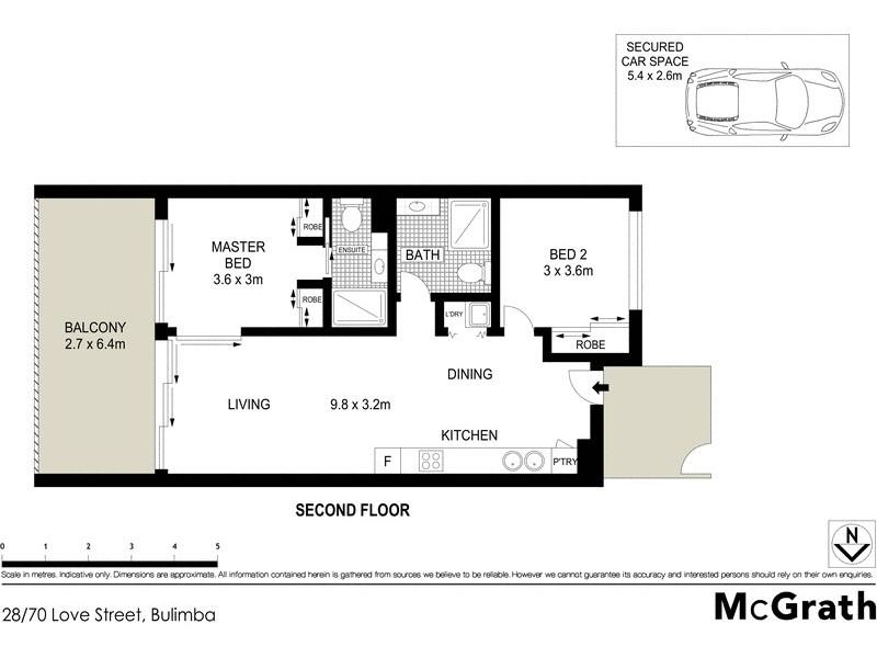 28/70 Love Street, Bulimba QLD 4171 Floorplan