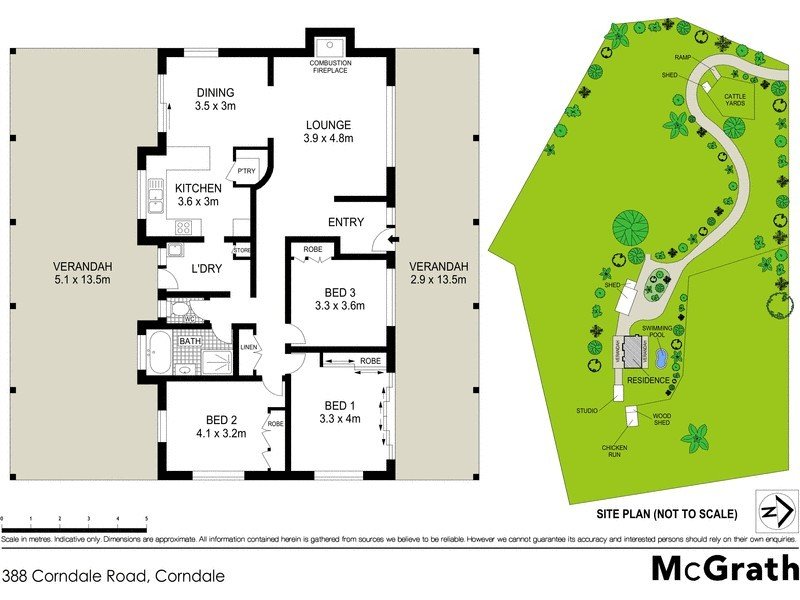 388 Corndale Road, Corndale NSW 2480 Floorplan