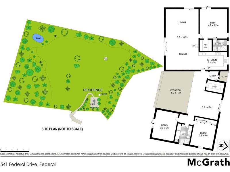 541 Federal Drive, Federal NSW 2480 Floorplan