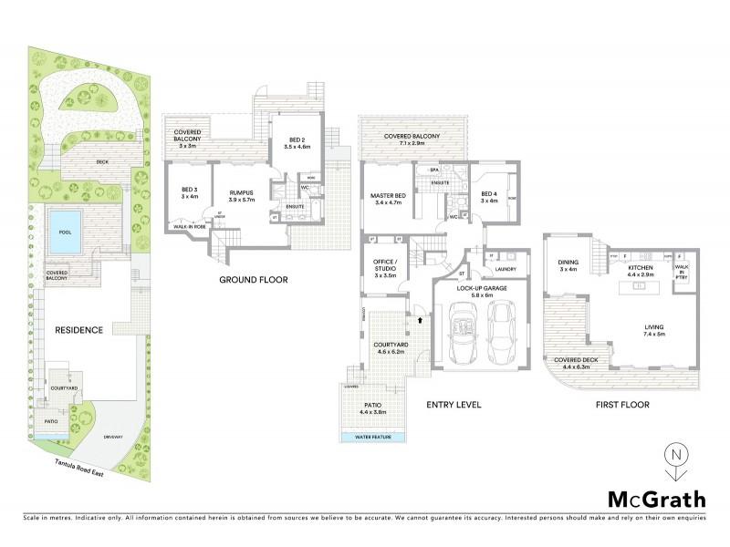 33 Tantula Road East, Alexandra Headland QLD 4572 Floorplan
