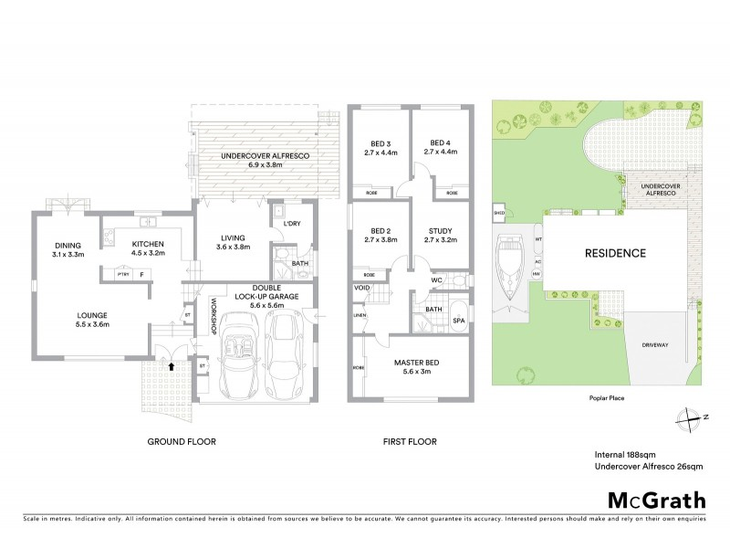3 Poplar Place, Kirrawee NSW 2232 Floorplan