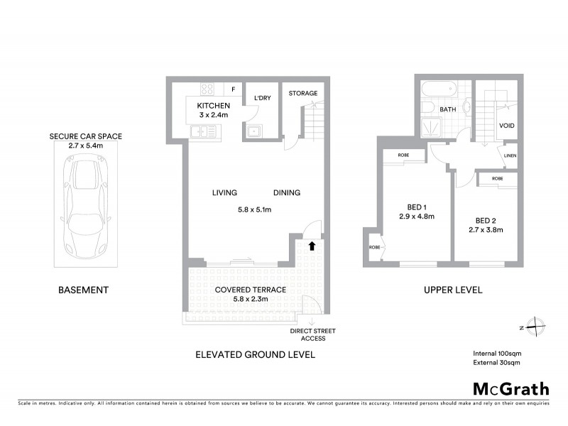 2/8-12 Wandella Road, Miranda NSW 2228 Floorplan
