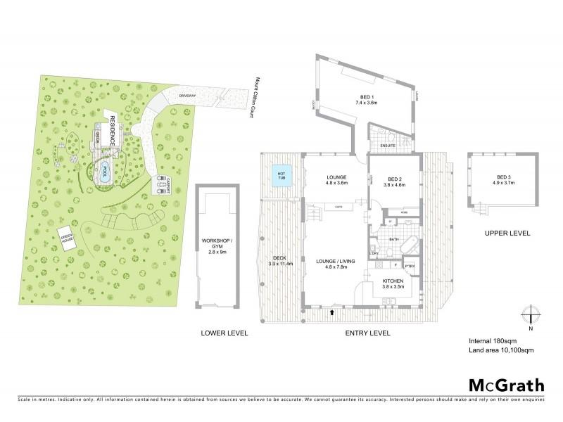 10 Mount Clifton Court, Alligator Creek QLD 4816 Floorplan