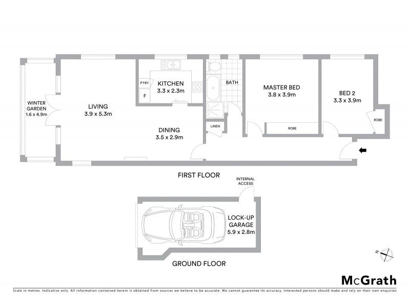 6/337 Victoria Avenue, Chatswood NSW 2067 Floorplan