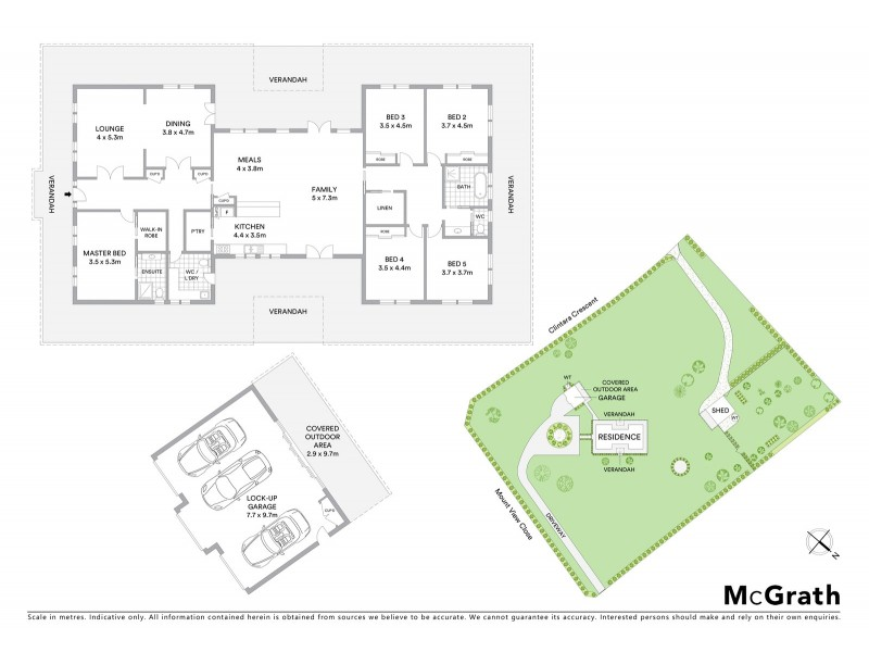 4 Mount View Close, Razorback NSW 2571 Floorplan