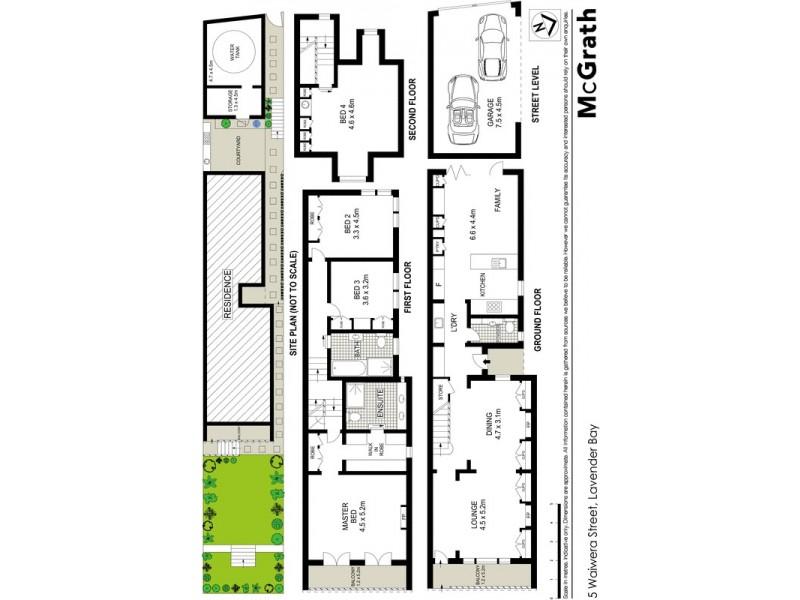 5 Waiwera Street, Mcmahons Point NSW 2060 Floorplan