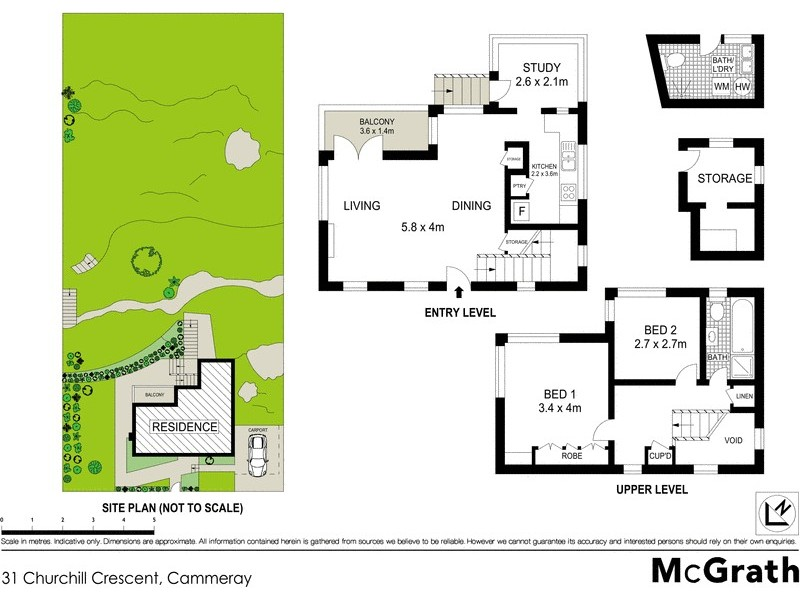 31 Churchill Crescent, Cammeray NSW 2062 Floorplan