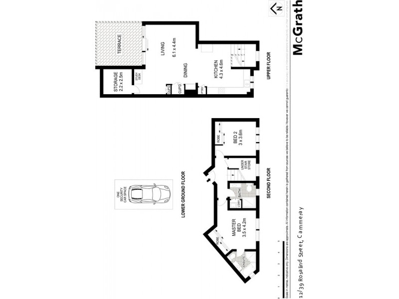 12/39 Rosalind Street, Cammeray NSW 2062 Floorplan