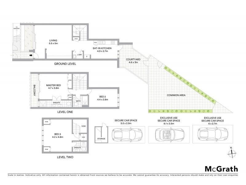 2/35 Arthur Street, Lavender Bay NSW 2060 Floorplan