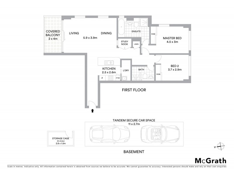 A102/79 Macpherson Street, Warriewood NSW 2102 Floorplan