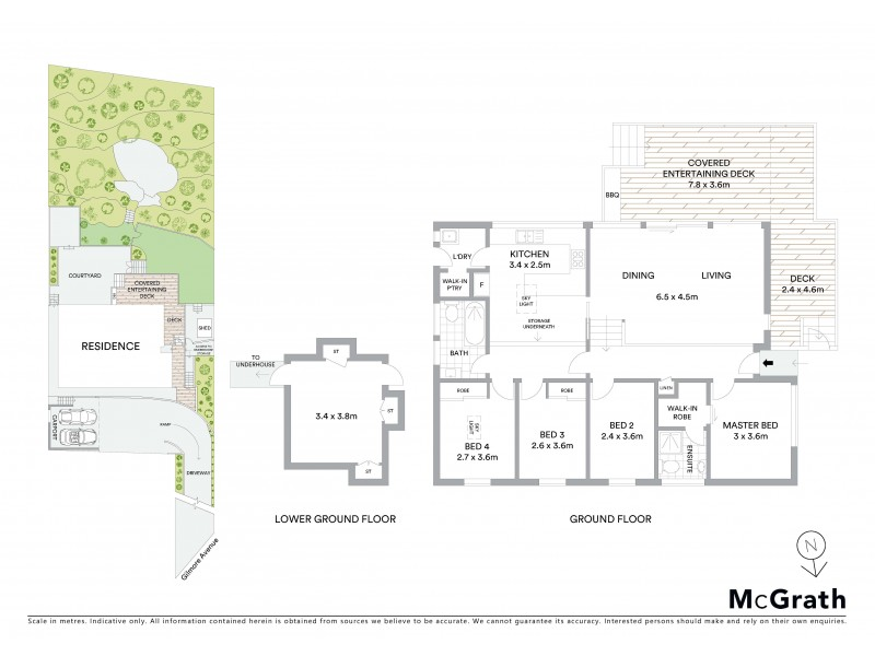 3 Gilmore Avenue, Collaroy Plateau NSW 2097 Floorplan