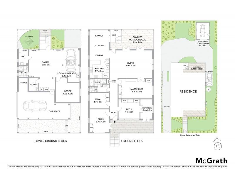 22 Upper Lancaster Road, Ascot QLD 4007 Floorplan